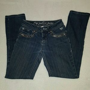 Very cute blingy Justice jeans